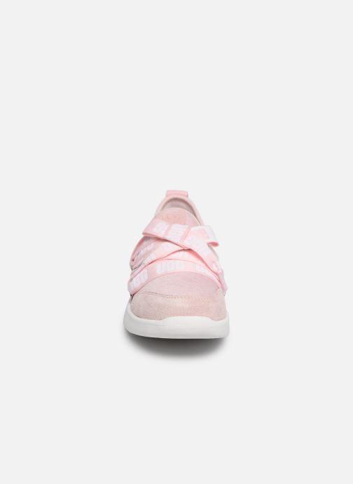 Baskets UGG Seaway Sneaker K Rose vue portées chaussures