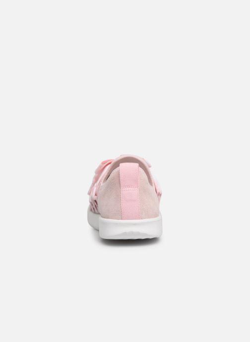 Baskets UGG Seaway Sneaker K Rose vue droite