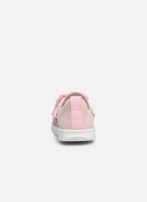 Trainers UGG Seaway Sneaker K Pink view from the right