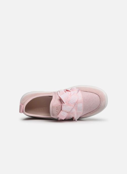 Trainers UGG Seaway Sneaker K Pink view from the left