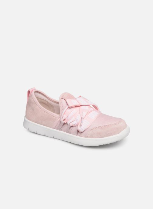 Baskets UGG Seaway Sneaker K Rose vue détail/paire