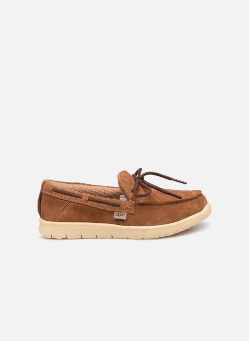 Chaussures à lacets UGG Beach Moc Slip-On K Marron vue derrière