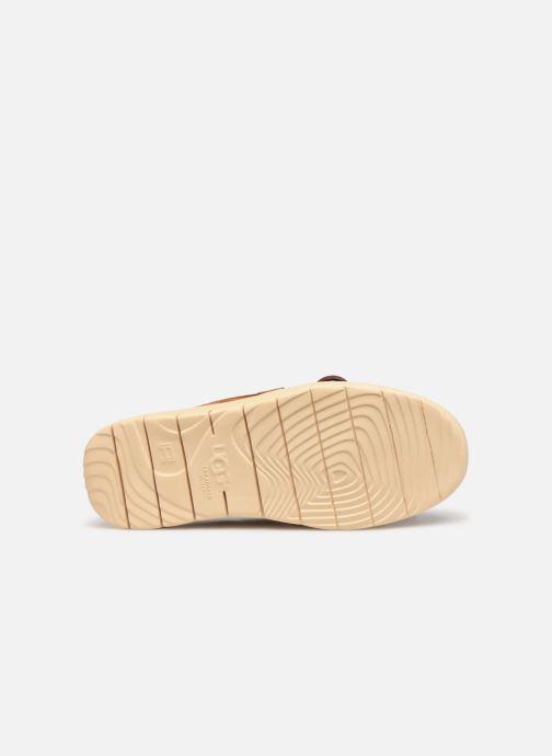 Chaussures à lacets UGG Beach Moc Slip-On K Marron vue haut