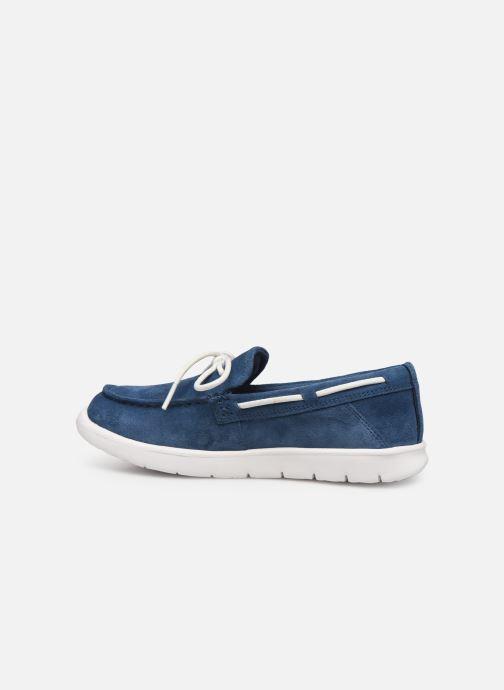 Zapatos con cordones UGG Beach Moc Slip-On K Azul vista de frente