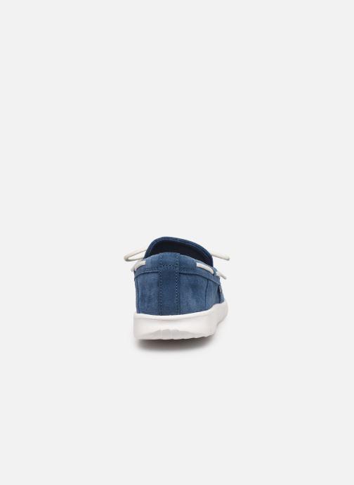 Zapatos con cordones UGG Beach Moc Slip-On K Azul vista lateral derecha