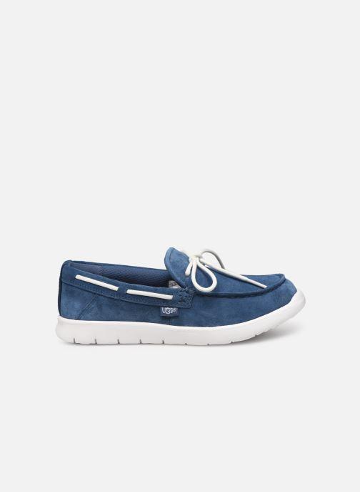 Chaussures à lacets UGG Beach Moc Slip-On K Bleu vue derrière
