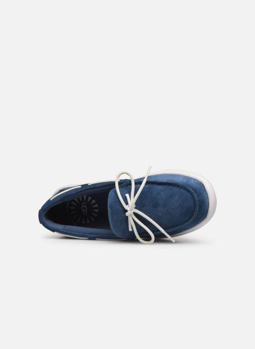 Zapatos con cordones UGG Beach Moc Slip-On K Azul vista lateral izquierda