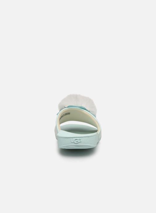 Sandales et nu-pieds UGG Cactus Flower Slide K Bleu vue droite