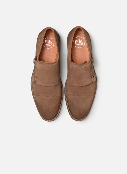 Chaussure à boucle Mr SARENZA Niboucla Marron vue portées chaussures