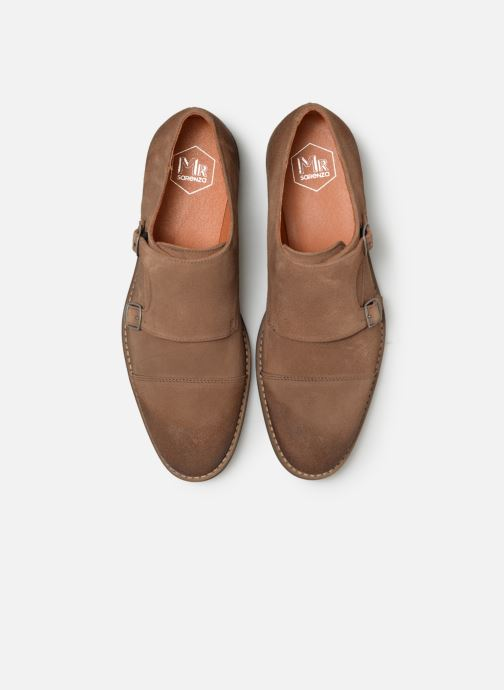 Zapato con hebilla Mr SARENZA Niboucla Marrón vista del modelo