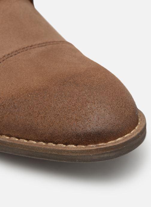 Zapato con hebilla Mr SARENZA Niboucla Marrón vista lateral izquierda