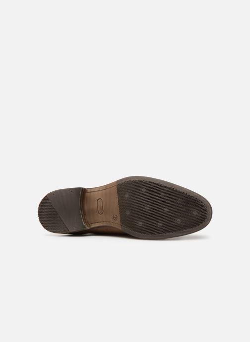 Schuhe mit Schnallen Mr SARENZA Niboucla braun ansicht von oben