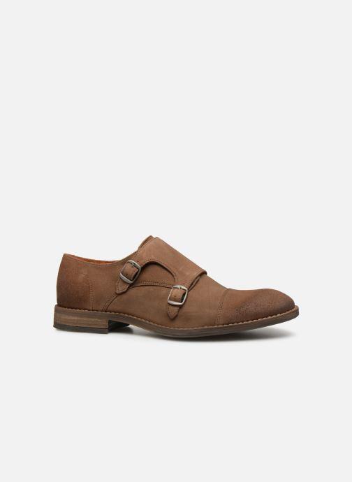 Gesp schoenen Mr SARENZA Niboucla Bruin detail