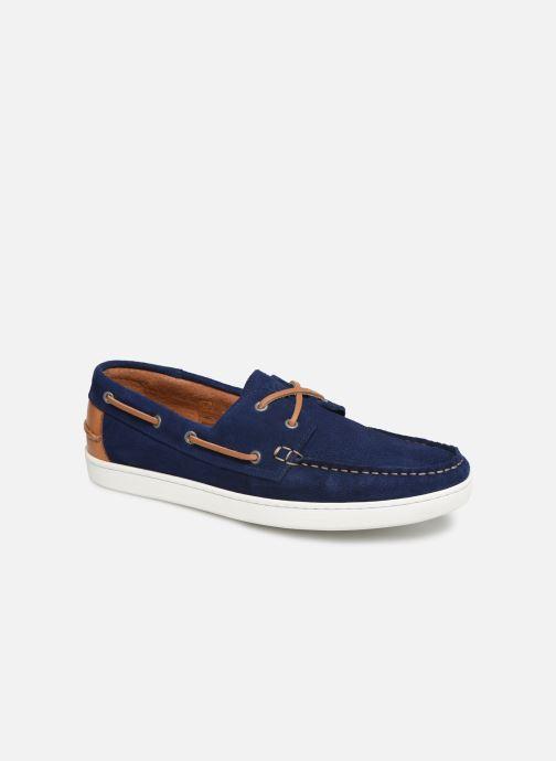 Chaussures à lacets Mr SARENZA Nobarca Bleu vue droite