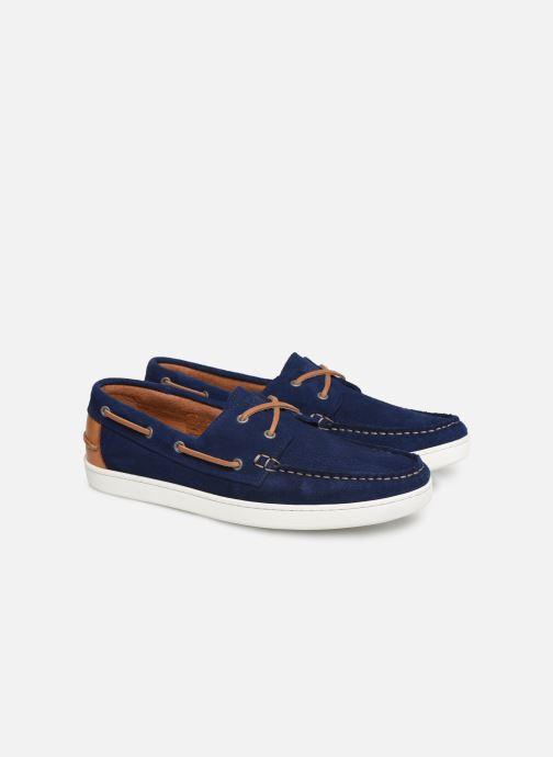 Chaussures à lacets Mr SARENZA Nobarca Bleu vue derrière