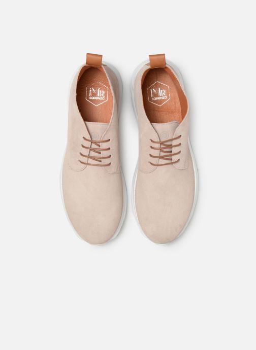 Baskets Mr SARENZA Nalti Beige vue portées chaussures