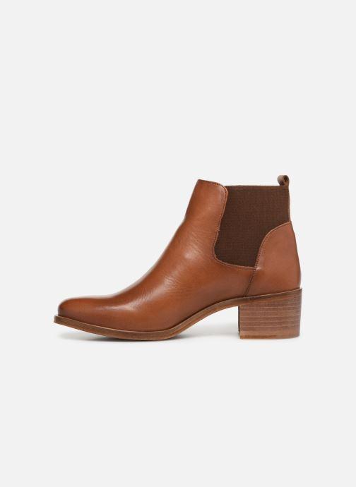 Bottines et boots Georgia Rose Anatale Marron vue face