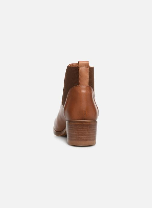 Ankle boots Georgia Rose Anatale Brown view from the right