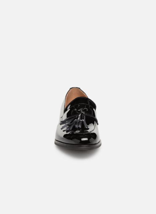 Mocassins Georgia Rose Anabela Noir vue portées chaussures