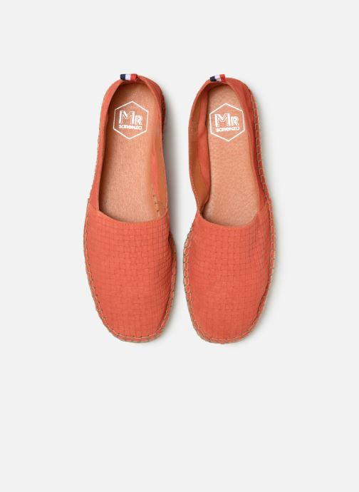 Espadrilles Mr SARENZA Norboss Orange vue portées chaussures
