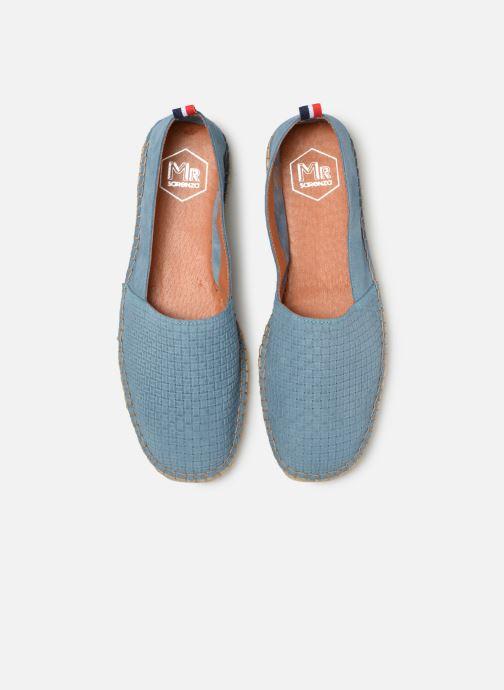 Espadrilles Mr SARENZA Norboss Bleu vue portées chaussures