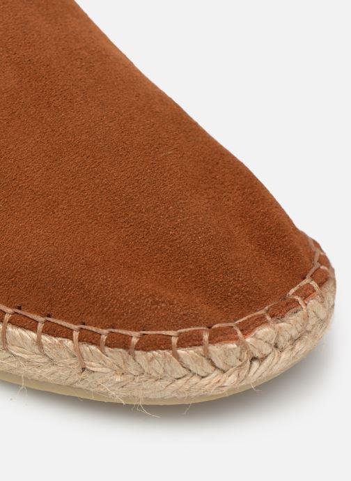 Scarpe di corda Mr SARENZA Narnol Marrone immagine sinistra