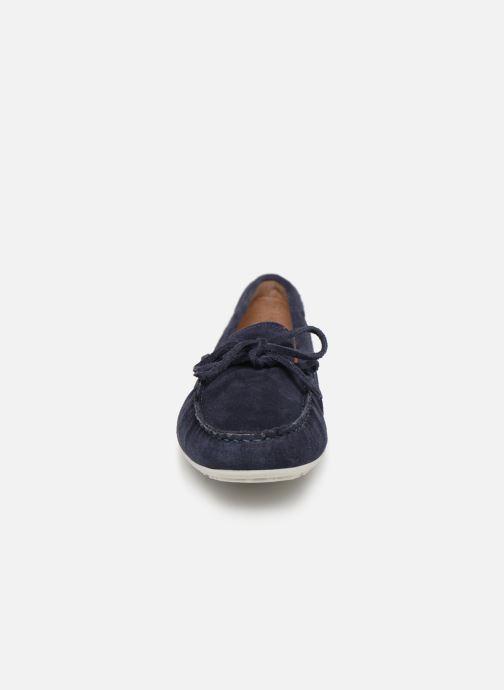 Mocassins Georgia Rose Auregane Bleu vue portées chaussures