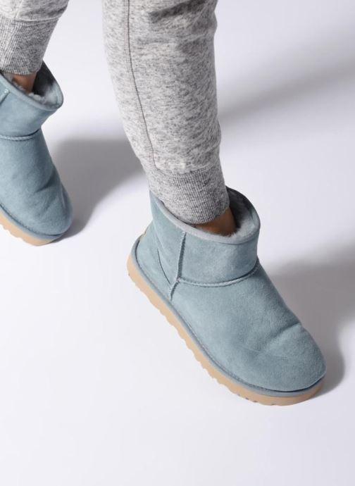 Boots en enkellaarsjes UGG Classic Mini II Blauw onder