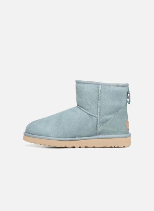 Boots en enkellaarsjes UGG Classic Mini II Blauw voorkant