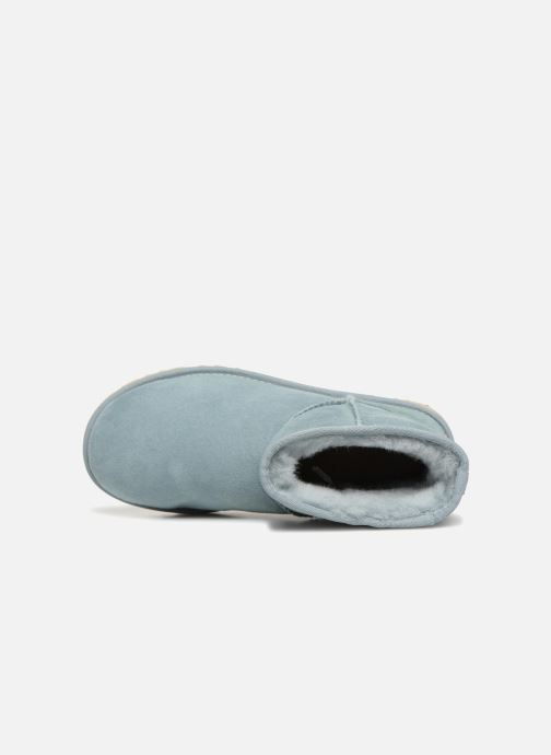 Bottines et boots UGG Classic Mini II Bleu vue gauche