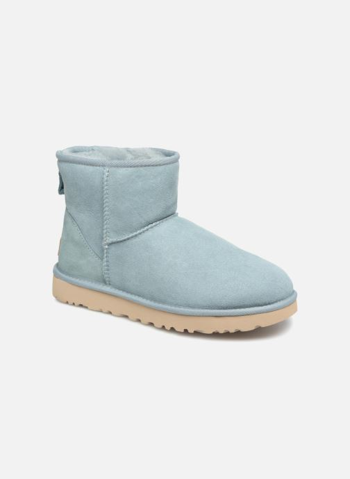 Ankle boots UGG Classic Mini II Blue detailed view/ Pair view