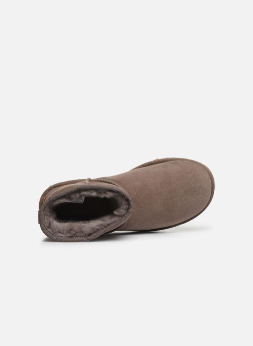 Stiefeletten & Boots UGG Classic Mini II braun ansicht von links