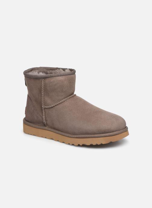 Bottines et boots UGG Classic Mini II Marron vue détail/paire