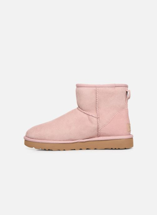 Bottines et boots UGG Classic Mini II Rose vue face