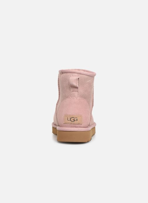 Bottines et boots UGG Classic Mini II Rose vue droite