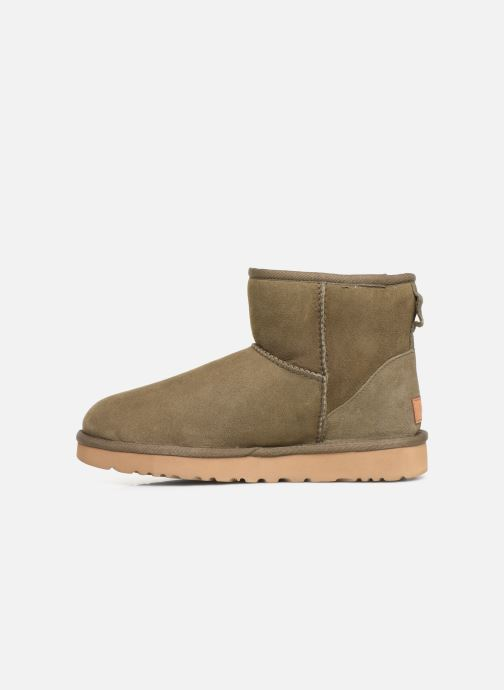 Ankle boots UGG Classic Mini II Green front view