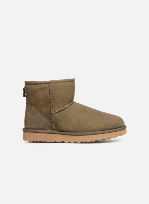 Ankle boots UGG Classic Mini II Green back view