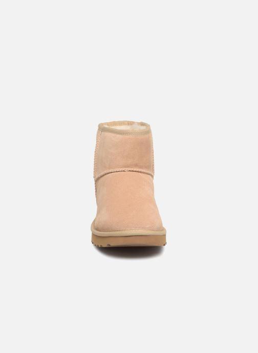 Bottines et boots UGG Classic Mini Metallic Snake Or et bronze vue portées chaussures