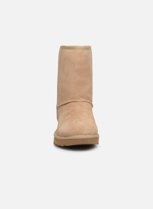 Bottes UGG Classic Short Metallic Snake Or et bronze vue portées chaussures