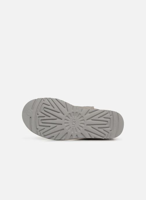 Laarzen UGG Classic Short Metallic Snake Grijs boven