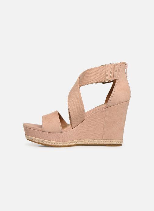 Sandalen UGG Calla Roze voorkant