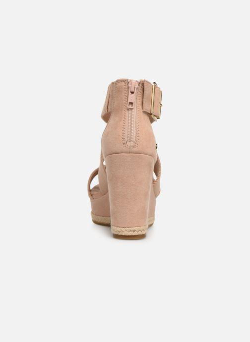 Sandales et nu-pieds UGG Calla Rose vue droite