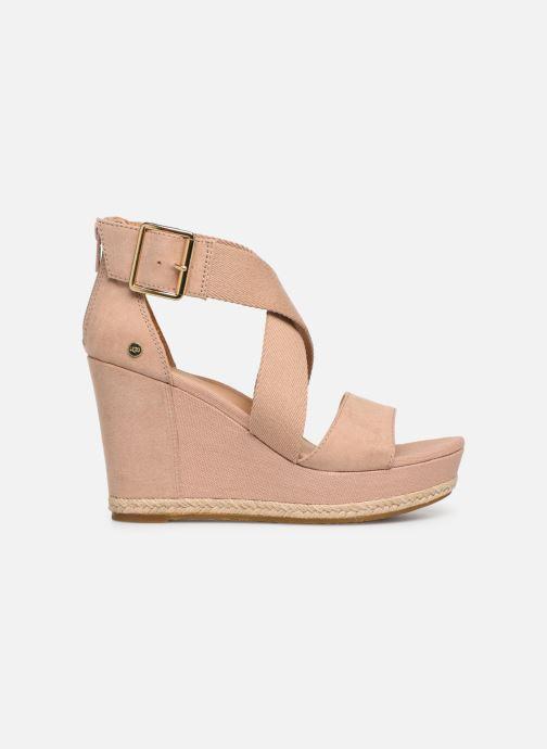 Sandalen UGG Calla Roze achterkant
