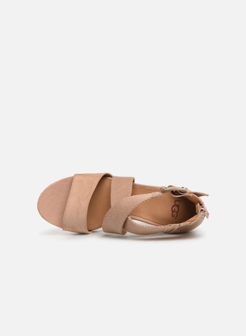 Sandales et nu-pieds UGG Calla Rose vue gauche