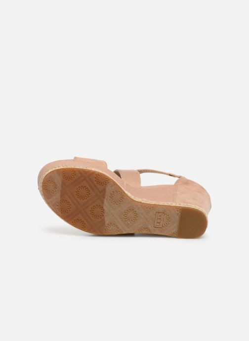 Sandali e scarpe aperte UGG Calla Rosa immagine dall'alto