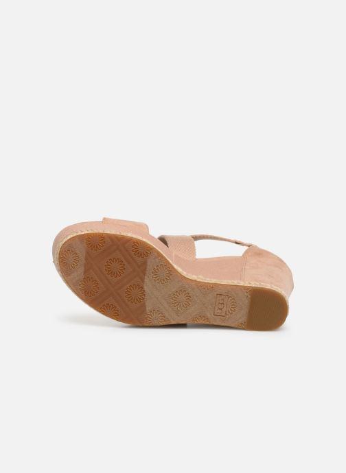 Sandales et nu-pieds UGG Calla Rose vue haut