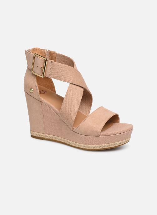 Sandales et nu-pieds UGG Calla Rose vue détail/paire