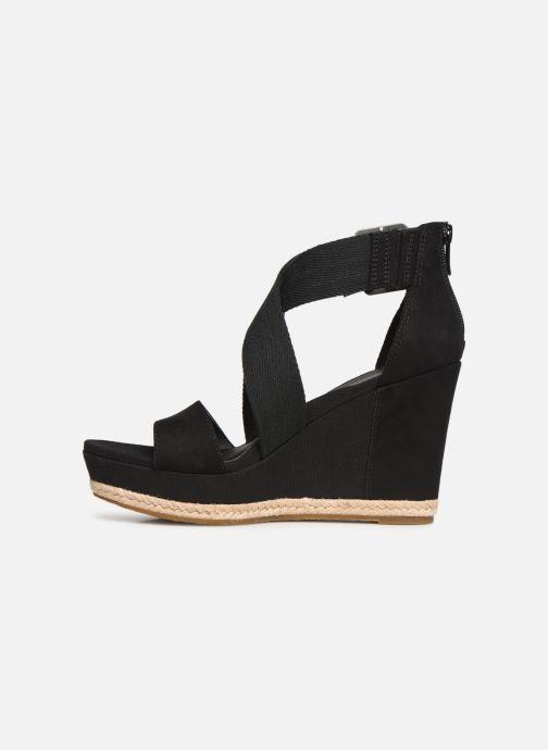 Sandales et nu-pieds UGG Calla Noir vue face
