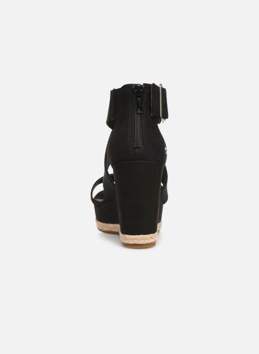 Sandales et nu-pieds UGG Calla Noir vue droite
