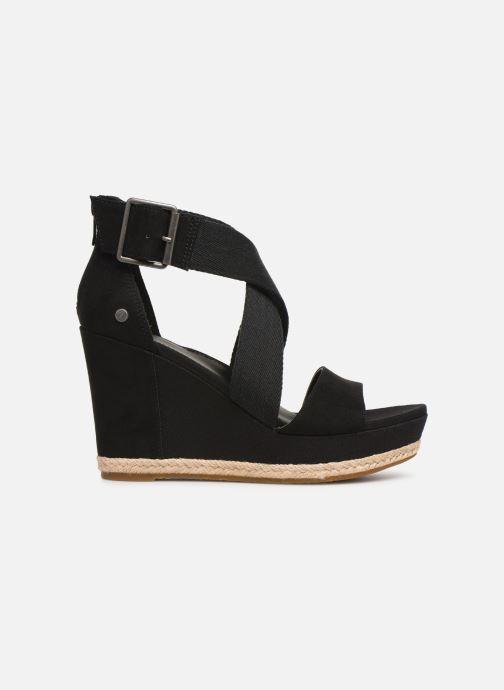 Sandales et nu-pieds UGG Calla Noir vue derrière